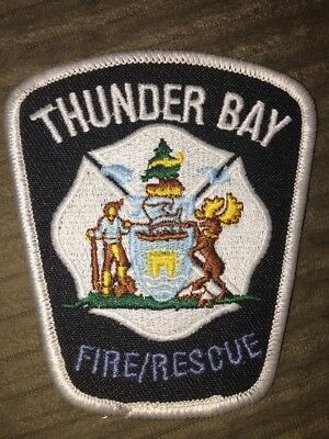 Thunder Bay Fire Rescue Patch Ontario Canada