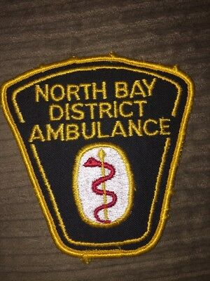 North Bay District Ambulance EMS Patch Ontario Canada