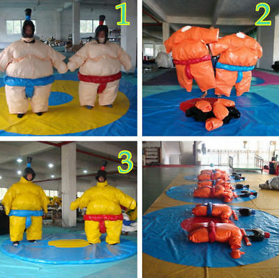 Profession Wrestling Sumo Suits SET Wrestler Sport Commercial 3 Color Options