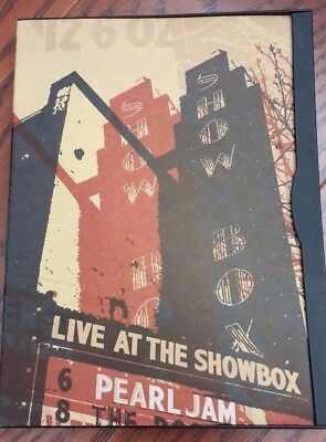 Pearl Jam Live at the Showbox DVD 2002