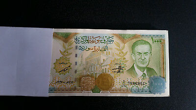 Syria 1000 / 1.000 Pounds 1997 P 111 Unc Bundle Of (100 Notes)