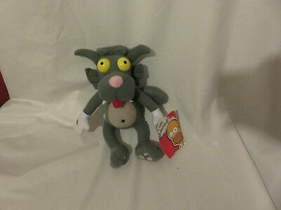"""12"""" cute soft Scratchy grey cat from the simpsons toy factory plush doll new tag"""