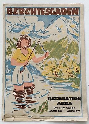 Weekly Program U.S. Army Recreation Area Berchtesgaden, Germany