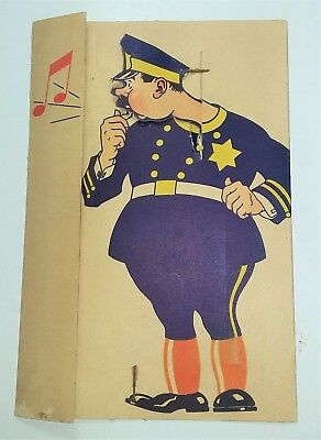 Vintage 1940's Shell Gasoline / Oil Mechanical Advertising Card