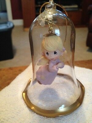 Precious Moments Bell With Angel Inside 1994