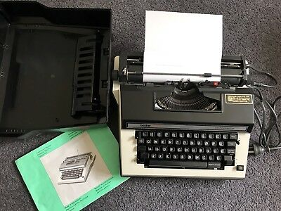 Brother Electric Cassette Typewriter 3912 Correction