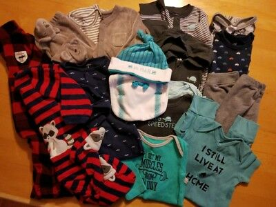 Baby Boy Clothes 6 -9 Months Fall and Winter Lot