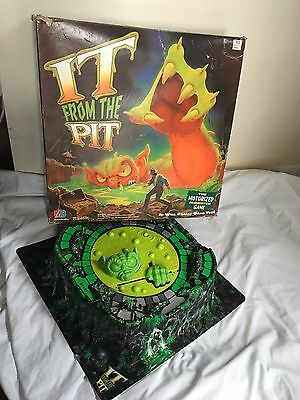 It From The Pit Vintage Game Volcano Board and Monster Only Tested and Works