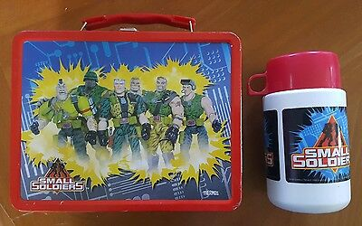 Small Soldiers Metal Lunchbox and Thermos 1998