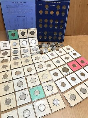 #5 Huge CANADIAN Coin Collection Estate Junk Drawer Lot Mixed Coin Lot