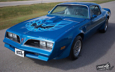 1978 Pontiac Trans Am  1978 Trans AM, W72, 4 speed, WS6, Martinique Blue, Fisher T-Tops, Rust-free