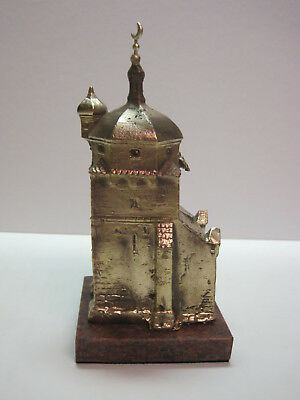 Building. Bronze. Model of the Turkish Church. Russia.