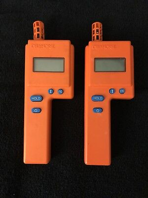 Pair of Delmhorst HT-3000 Thermo - Hygrometer