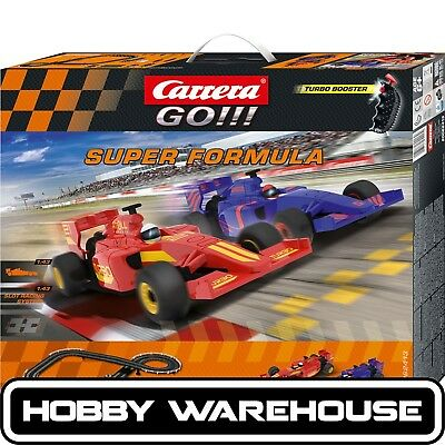 Carrera GO!!! Super Formula Slot Racing Set