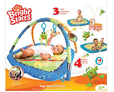 Bright Starts Baby New Playmat Musical Playgym Play mat Play Gym