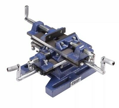 """Central Forge 69159 5"""" Drill Press Milling Vise Cast Iron"""