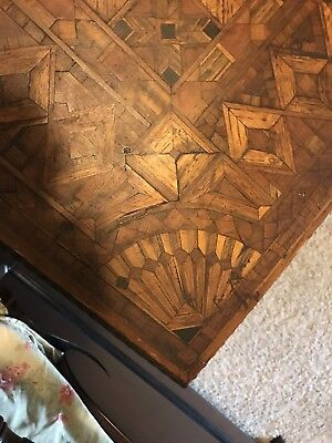 Victorian Table Inlaid Top