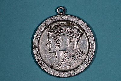 1937 Coronation medal of George VI and Queen Elizabeth