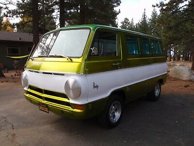 1966 Dodge A100 chrome 1966 Dodge a100 van