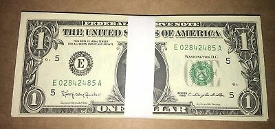HUGE LOT! 84 UNCIRCULATED 1963 $1 Federal Reserve Notes!