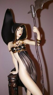 Mistress of Death by Brom Porcelain Figurine Statue Franklin Mint 1319/9500