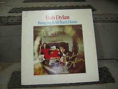 Bob Dylan Signed Lp Bring It All Back Home