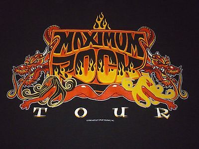 Motley Crue Vintage 2000 Tour Shirt ( Used Size XL ) Nice Condition!!!