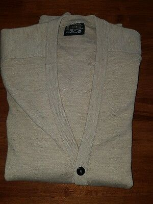 Men's Pure Australian Wool Cardigan Size 22