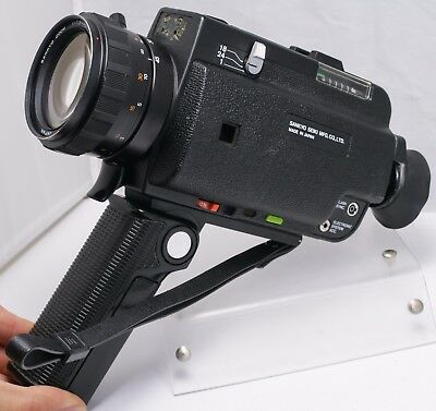 Sankyo ES-66XL Super 8 Movie Film Camera w/ 7.5-45mm F1.2 Zoom Lens