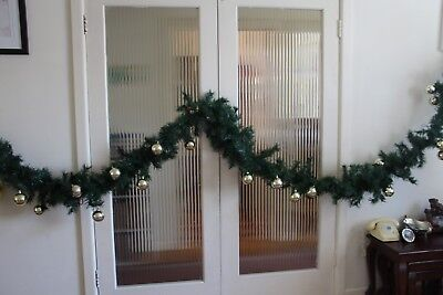 Christmas Tree Decorations - Green tinsel - 6.5 metres