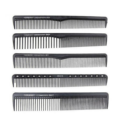 1Pc Multi Style Professional Carbon Fiber Cricket Comb Antistatic Cutting Comb