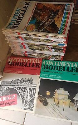 continental modeller 1x 1982  1x 1984 plus 34 mixed years 2014 and backwards