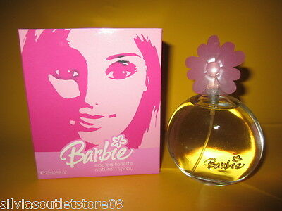 Barbie Eau de Toilette natural Spray 75ml Rarität von 2004 Made in Spanien NEU