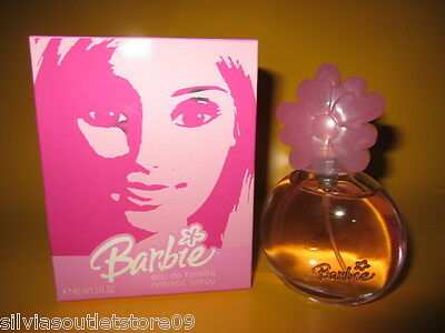 Barbie Eau de Toilette natural Spray 40ml Rarität von 2004 Made in Spanien NEU