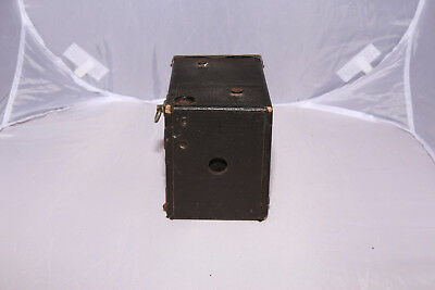 Antique Ansco Buster Brown No. 2A Box Camera - Tested - Shutter Works