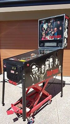 Sopranos Pinball Machine by Stern with LEDS