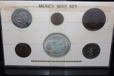 Mexico Mint Set Sealed in Plastic Sleeve