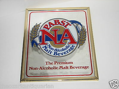 Pabst NA Non Alcoholic Malt Beverage Pabst Beer Mirror FREE SHIPPING