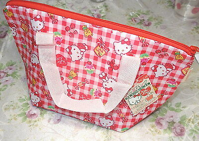 Japanese Hello Kitty Lunch Box Bento Insulated Pouch Bag