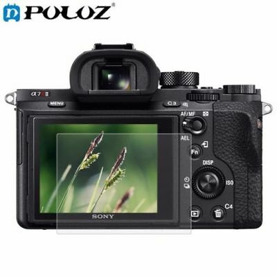 Tempered Glass Camera LCD Screen Protector Cover For Sony RX100 A7M2 A7R A7R2 US