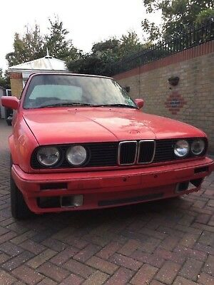 Bmw e30 318 convertible spares or repair px swap try me