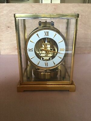 Atmos Clock 526 By Jaeger Le Coultre With Rare Dial