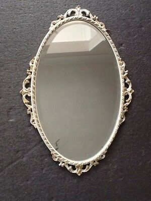 Ornate 1950's Oval Mirror