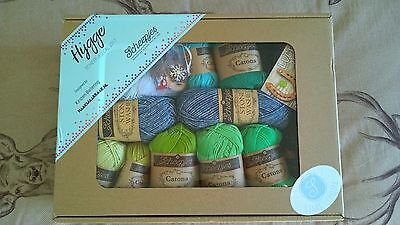 SCHEEPJES Hygge Cal crochet shawl kit , MERMAID Unopened , complete
