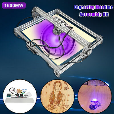1600mw 100x100cm DIY Laser Engraving CNC Cutting Engraver Cutter Printer Machine