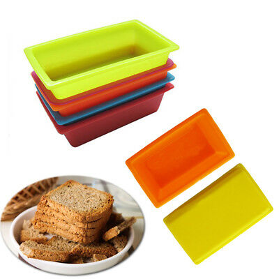 DIY Mold Bread Baking Tools Toast Box Pastry Silicone Bakeware Cake Mould