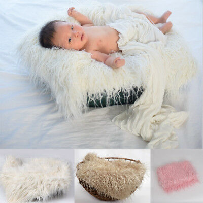 1 Pc Newborn Baby Toddler Stretch Wrap Infant Photography Props Blanket Rug new