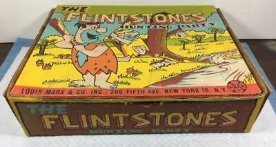 VINTAGE Marx The Flintstones Hunting Party Play Set BOX ONLY