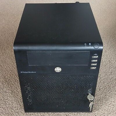 HP ProLiant N40L MicroServer, AMD Dual Core, 8GB RAM, +250GB HDD