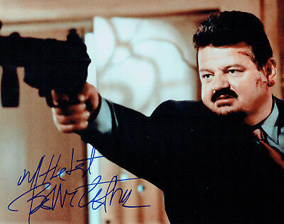 Robbie COLTRANE SIGNED Autograph 10x8 Photo AFTAL COA James Bond Cracker Actor
